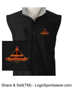 TOSA Soft Shell Vest Design Zoom