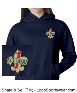 Youth Size Hoodie Sweatshirt Design Zoom
