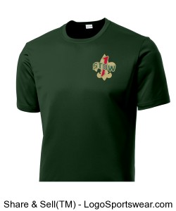 Troop 1 T-Shirt FOR TALL PEOPLE!!! Design Zoom