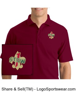 Troop 1 Stow Polo Shirt Design Zoom