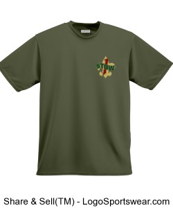 Troop 1 Stow performance t-shirt Design Zoom